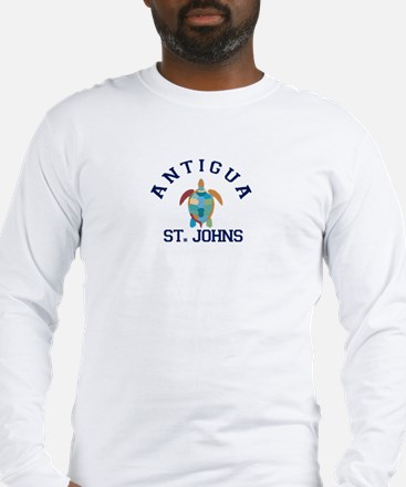 Antigua. Long Sleeve T-Shirt