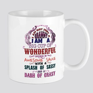 I am not just a Grammy Mugs