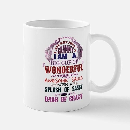 I am not just a Grammy Mugs