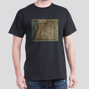 Vintage Map of Oregon (1921) T-Shirt