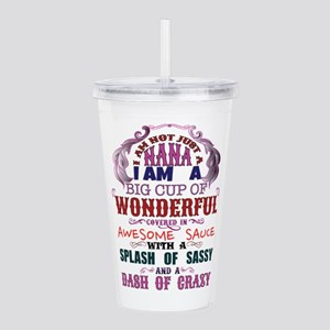 I am not just a Nana Acrylic Double-wall Tumbler