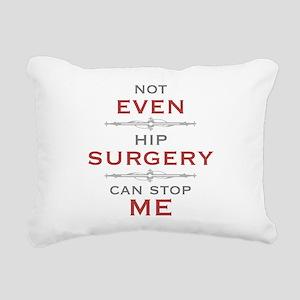 Hip Surgery Humor Rectangular Canvas Pillow