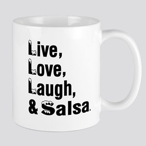 Live Love Salsa Dance Designs Mug