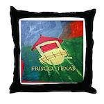 Frisco's Throw Pillow