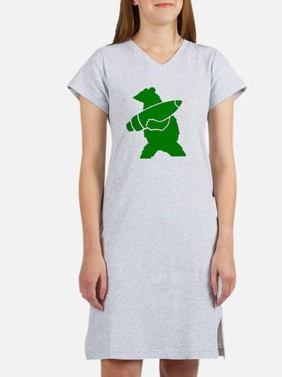 Wojtek the Soldier Bear Women's Nightshirt