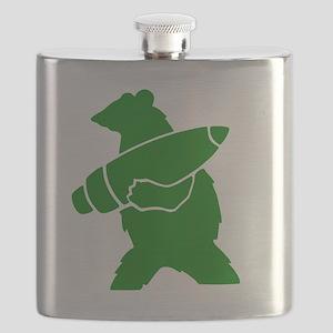 Wojtek the Soldier Bear Flask