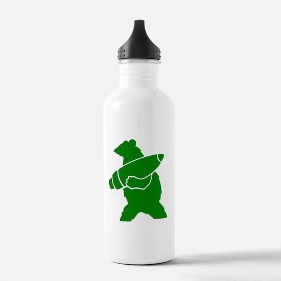 Wojtek the Soldier Bea Water Bottle