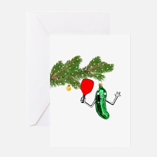 PICKLEBALL HOLIDAY GIFTS Greeting Cards