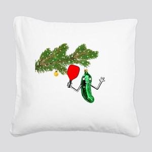 PICKLEBALL HOLIDAY GIFTS Square Canvas Pillow