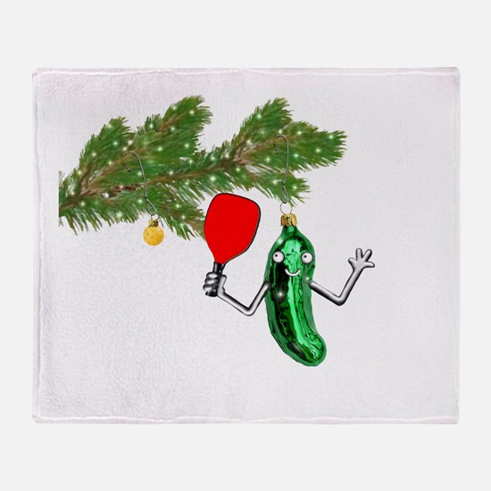 PICKLEBALL HOLIDAY GIFTS Throw Blanket