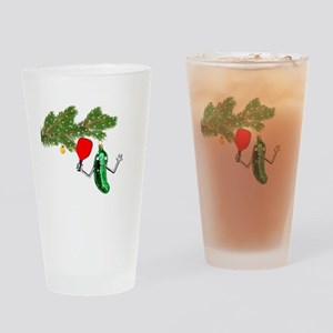 PICKLEBALL HOLIDAY GIFTS Drinking Glass