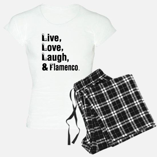 Live Love Flamenco Dance De Pajamas