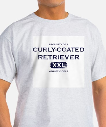 Property of Curly Coated Retriever T-Shirt