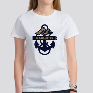 Proud Navy Personalized Women's T-Shirt