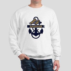 Proud Navy Personalized Sweatshirt