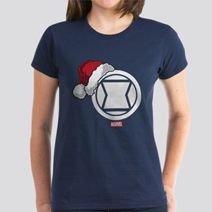 Black Widow Santa Women's Dark T-Shirt