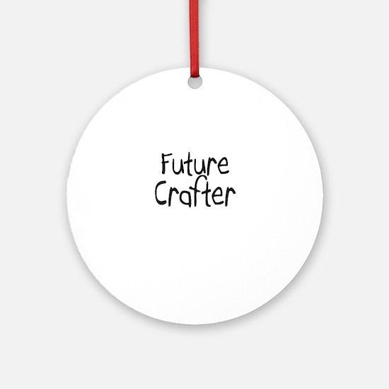 Future Crafter Ornament (Round)