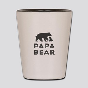 Papa Bear Shot Glass