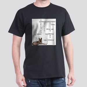 GSD crossword puzzle Ash Grey T-Shirt
