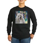 Chinese Crested Painting Long Sleeve T-Shirt