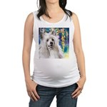 Chinese Crested Painting Maternity Tank Top