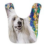 Chinese Crested Painting Bib