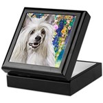 Chinese Crested Painting Keepsake Box
