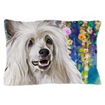 Chinese Crested Painting Pillow Case