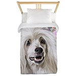 Chinese Crested Painting Twin Duvet