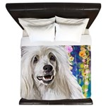 Chinese Crested Painting King Duvet