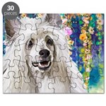 Chinese Crested Painting Puzzle