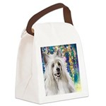 Chinese Crested Painting Canvas Lunch Bag
