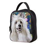 Chinese Crested Painting Neoprene Lunch Bag