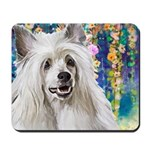 Chinese Crested Painting Mousepad