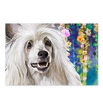 Chinese Crested Painting Postcards (Package of 8)