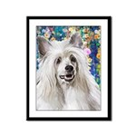 Chinese Crested Painting Framed Panel Print