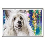 Chinese Crested Painting Banner