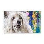 Chinese Crested Painting Wall Decal