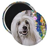 Chinese Crested Painting Magnets