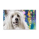 Chinese Crested Painting Car Magnet 20 x 12
