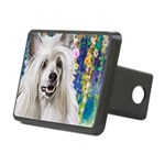 Chinese Crested Painting Hitch Cover