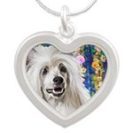 Chinese Crested Painting Necklaces