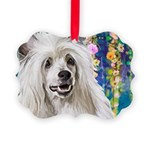 Chinese Crested Painting Ornament