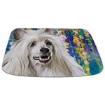 Chinese Crested Painting Bathmat