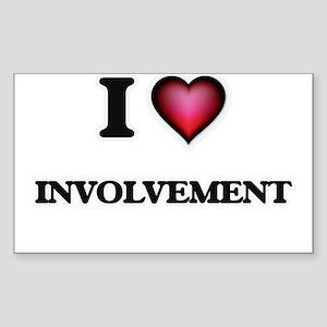 I Love Involvement Sticker