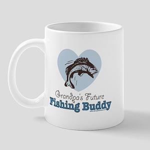 Grandpa's Future Fishing Buddy Fisherman Mug