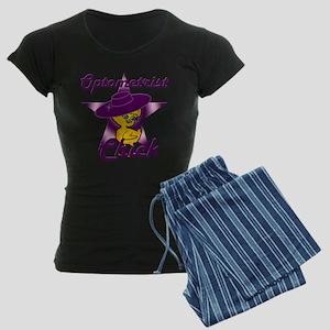 Optometrist Chick #9 Women's Dark Pajamas