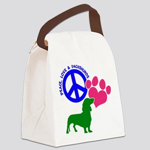 P,L,DOXIES Canvas Lunch Bag