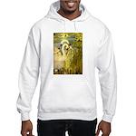 SWANS, Vintage art Print Hoodie Sweatshirt