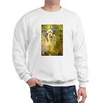 SWANS, Vintage art Print Sweater